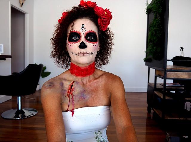 Halloween Makeup in Doncaster